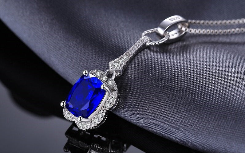Real Sapphire Necklace