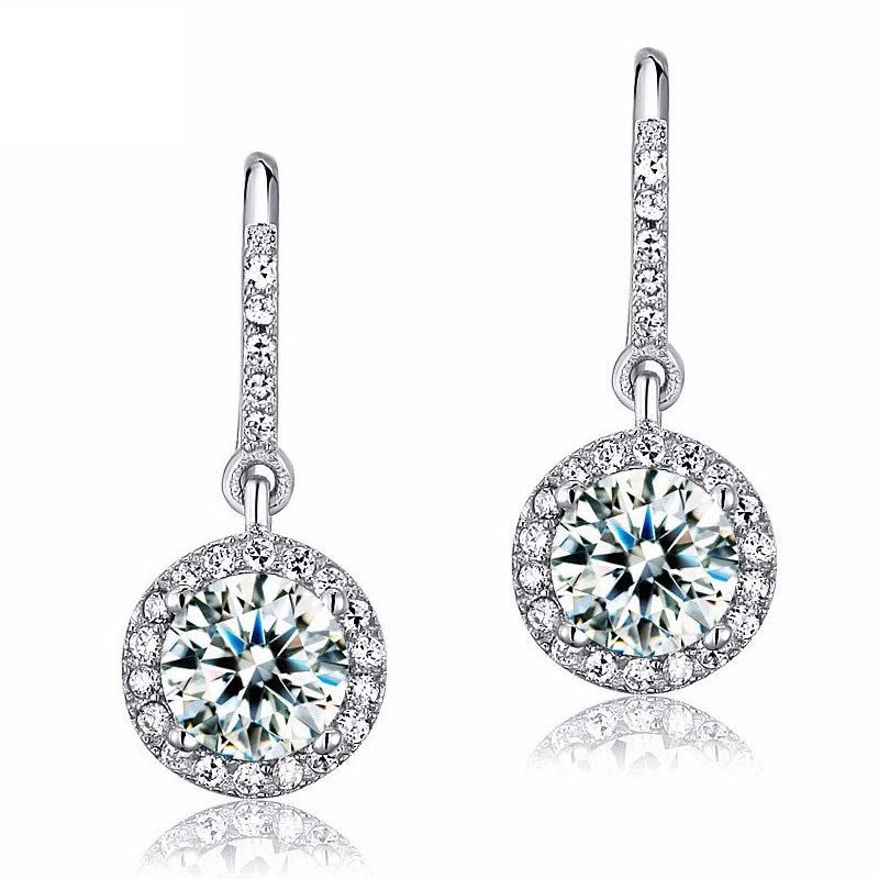 Diamond Earrings for Women and Girls