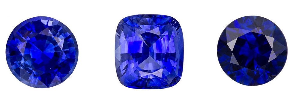 Real Blue Sapphire Color, Clarity and Cut