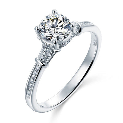 1 carat simulated Diamond Ring