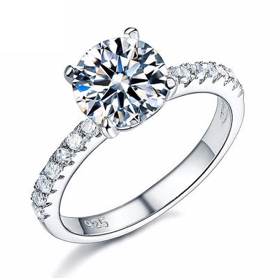 2 carat Simulated Diamond Ring