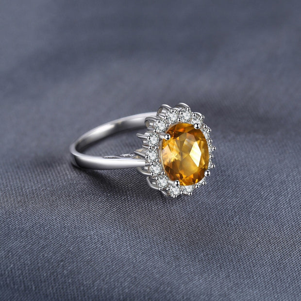 Citrine Ring: Citrine Engagement Ring
