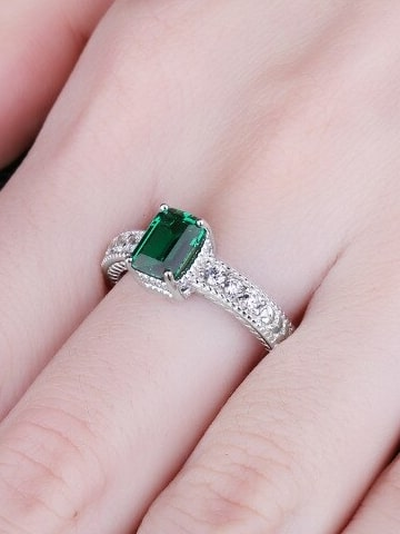 Emerald Ring for Women