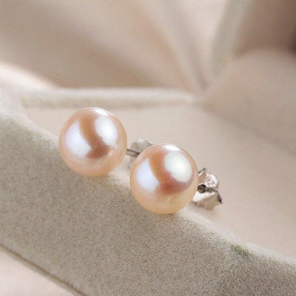 Pink Pearl Ohrstecker