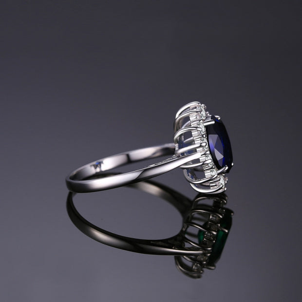 Lab Created Sapphire ring
