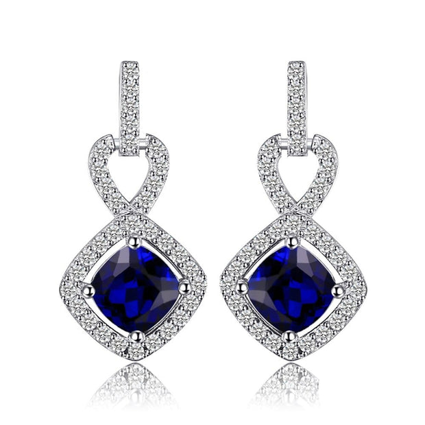 Real Sapphire Earrings