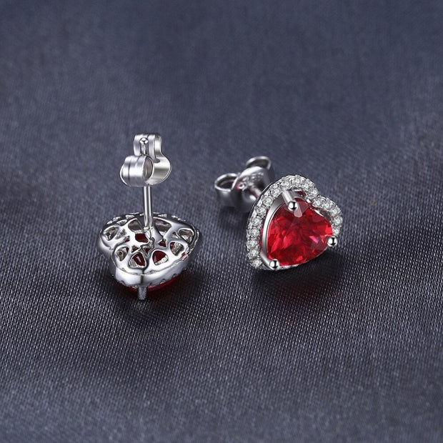 Ruby Earrings UK