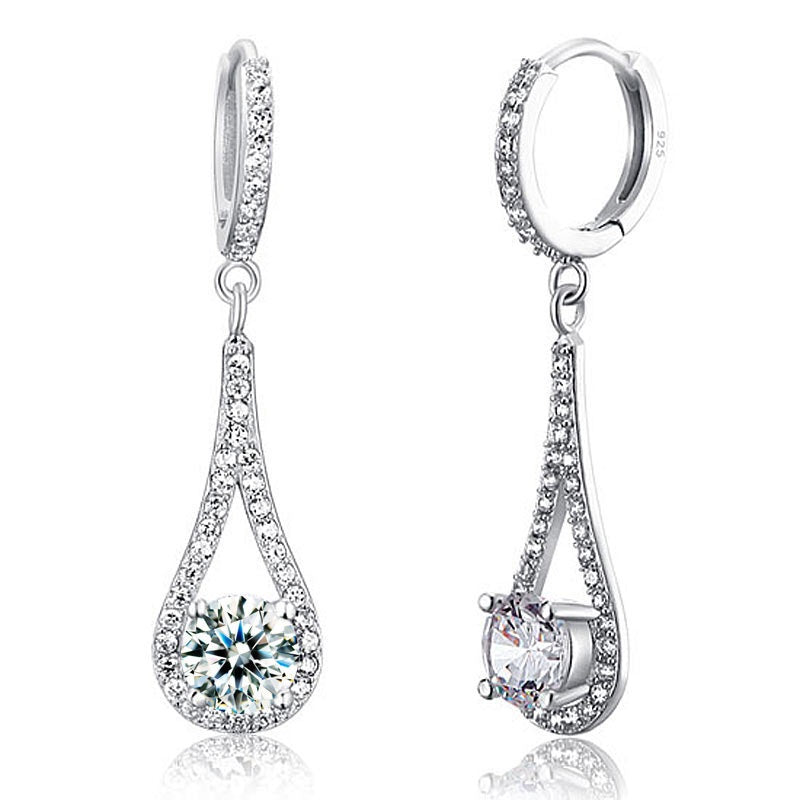 Simulated Diamond Earrings