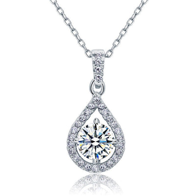 Simulated Diamond Necklace