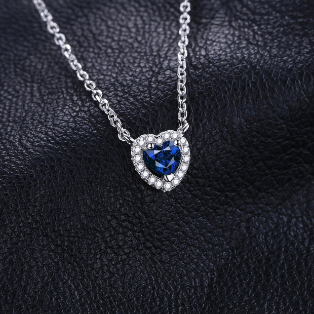 Small Sapphire Necklace