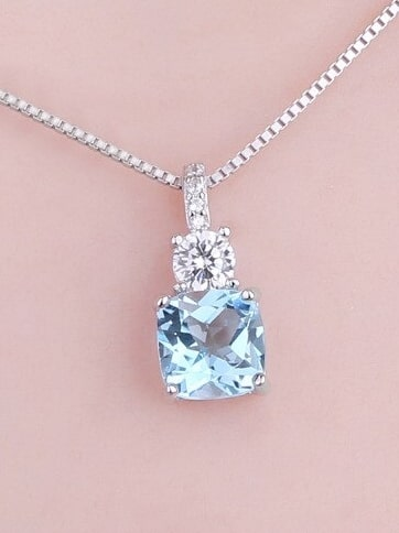 Topaz Birthstone Necklace
