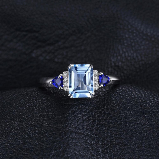 Topaz Birthstone Ring