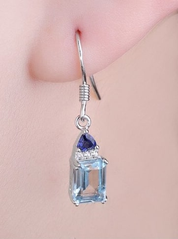 Topaz Earrings UK