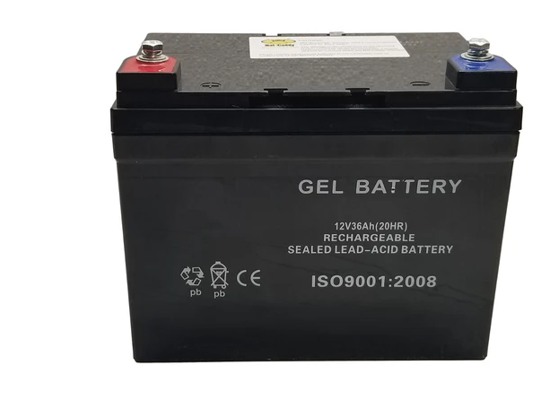 Bat Caddy SLA Battery: 12V 36Ah  (Del Incl)
