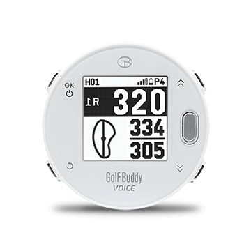 Golf Buddy Voice X GPS, White - Perceptive Golfing