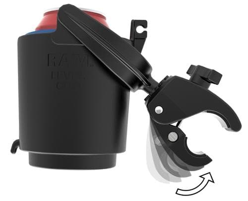 Spritzer RAM Tough-Claw Mount w/ Self Leveling Cup - Perceptive Golfing