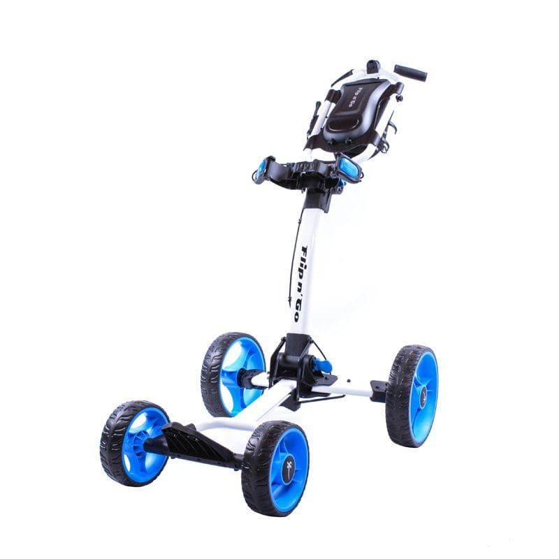 Axglo Flip n' Go 4 Wheel Push Cart - Perceptive Golfing