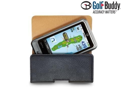 Golf Buddy Leather Case