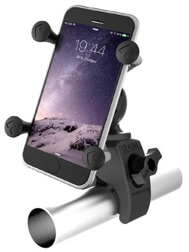 Spritzer RAM Tough-Claw Mount w/ Universal XGrip Phone Holder - Perceptive Golfing