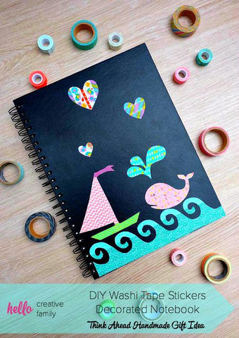 decorated notebook cover