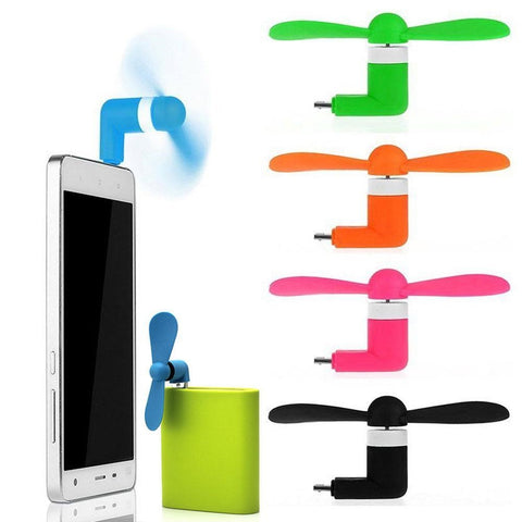 mini mobile fan