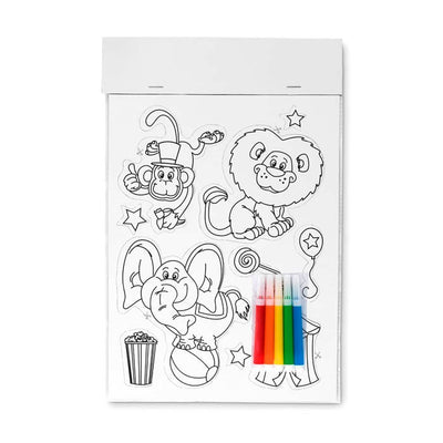 Fridge Magnet Coloring Chart - BulkHunt - Wholesale Return Gifts Online
