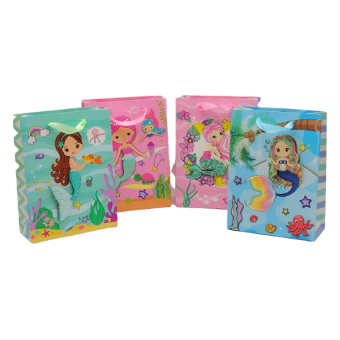Mermaid Theme Paper Bag - BulkHunt - Wholesale Return Gifts Online