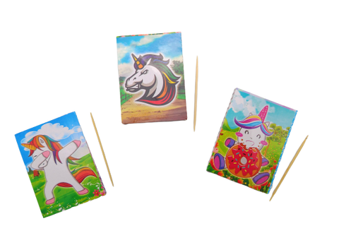 Unicorn Mini Scratch Card - BulkHunt - Wholesale Return Gifts Online