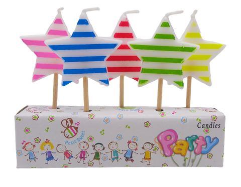 Star Birthday Candles - BulkHunt - Wholesale Return Gifts Online