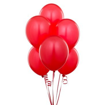 25 Metallic Red Party Balloon - BulkHunt - Wholesale Return Gifts Online