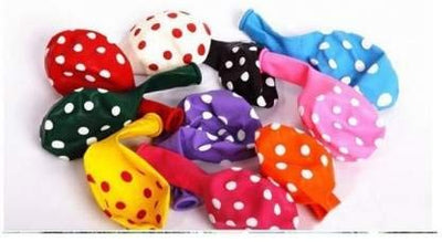 25 Polka Dot Party Balloons - BulkHunt - Wholesale Return Gifts Online