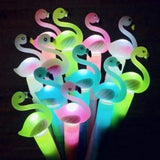 12 Pc Flamingo LED Light Pens