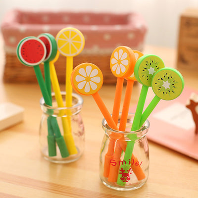 Fruits Gel Pens - BulkHunt - Wholesale Return Gifts Online