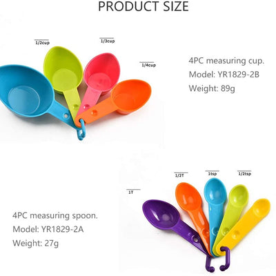 9 Piece Measuring Cup and Spoons Set