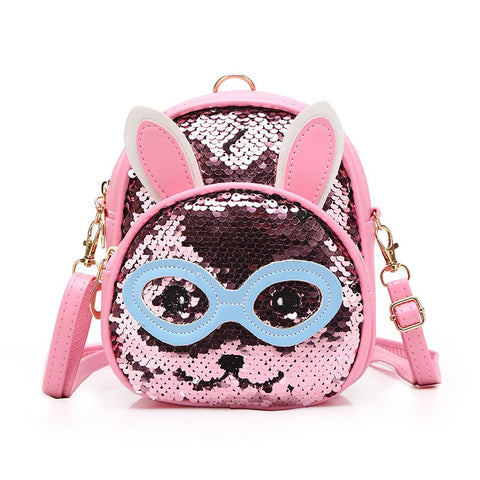 Sequin Sling Rabbit Eyes