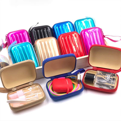 Metallic Earphone Pouch Bag - BulkHunt - Wholesale Return Gifts Online