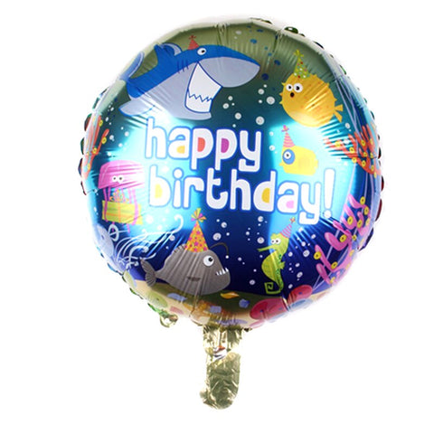 "Ocean Theme Foil Balloon 18"" - BulkHunt - Wholesale Return Gifts Online"