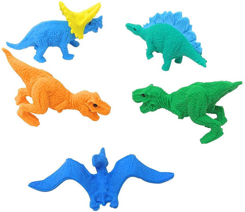 Dinosaur Animal Erasers Pack - BulkHunt - Wholesale Return Gifts Online
