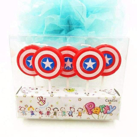 Captain America Birthday Candles - BulkHunt - Wholesale Return Gifts Online