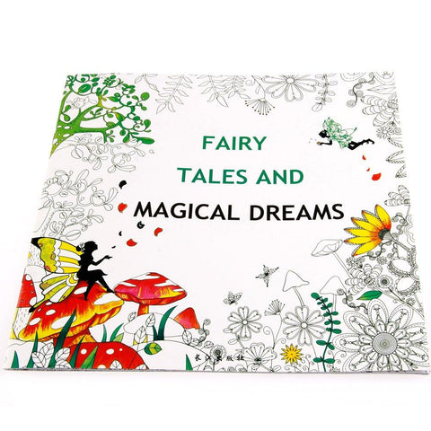 Fairy Tale and Magical Dreams Coloring Book - BulkHunt - Wholesale Return Gifts Online