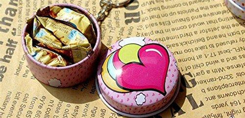 Fruit Tin Round Keychain - BulkHunt - Wholesale Return Gifts Online