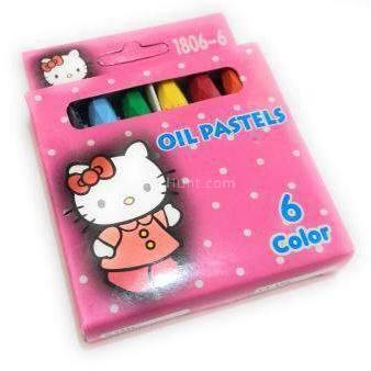 Girls 6 Color Oil Pastel - BulkHunt - Wholesale Return Gifts Online