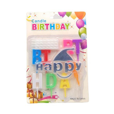 Happy Birthday Candles Boy - BulkHunt - Wholesale Return Gifts Online
