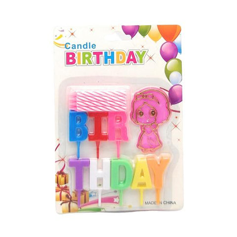 Happy Birthday Candles Girl - BulkHunt - Wholesale Return Gifts Online