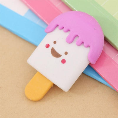 Ice Cream Smiley Eraser - BulkHunt - Wholesale Return Gifts Online