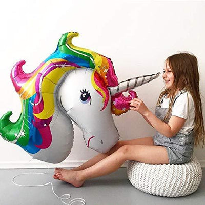 "Large Unicorn Foil Balloon 40"" - BulkHunt - Wholesale Return Gifts Online"