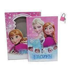 Lock Diary Frozen - BulkHunt - Wholesale Return Gifts Online
