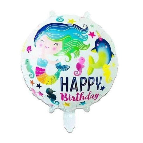 "Mermaid Foil Balloon 18"" - BulkHunt - Wholesale Return Gifts Online"