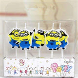 Minion Birthday Candles - BulkHunt - Wholesale Return Gifts Online