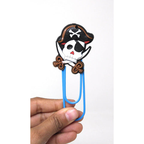 Pirate Paper Clip Bookmarks - BulkHunt - Wholesale Return Gifts Online
